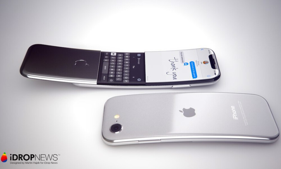 """Curious renders envision a curved """"banana"""" iPhone"""