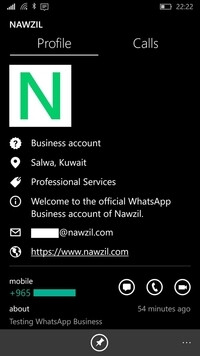 WhatsApp Business app is in the works for Windows 10 Mobile
