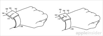 An Apple patent for a self-adjusting watch strap