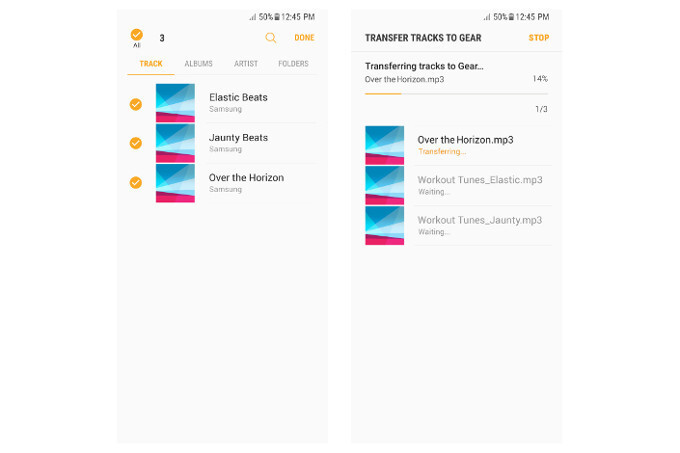 Yes, uploading music via Bluetooth is way slower than using a data cable, but may come in handy sometimes - Samsung Gear IconX (2018) software update brings equalizer presets and more