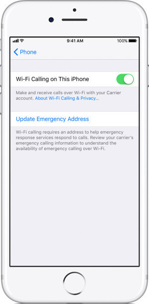 T Mobile Iphones Prioritize Cellular Over Wi Fi Calling After Carrier Bundle 32 0 And