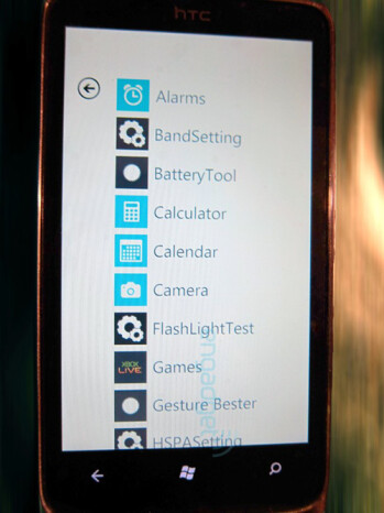 Mysterious HTC device is pictured with Windows Phone 7, but without Sense