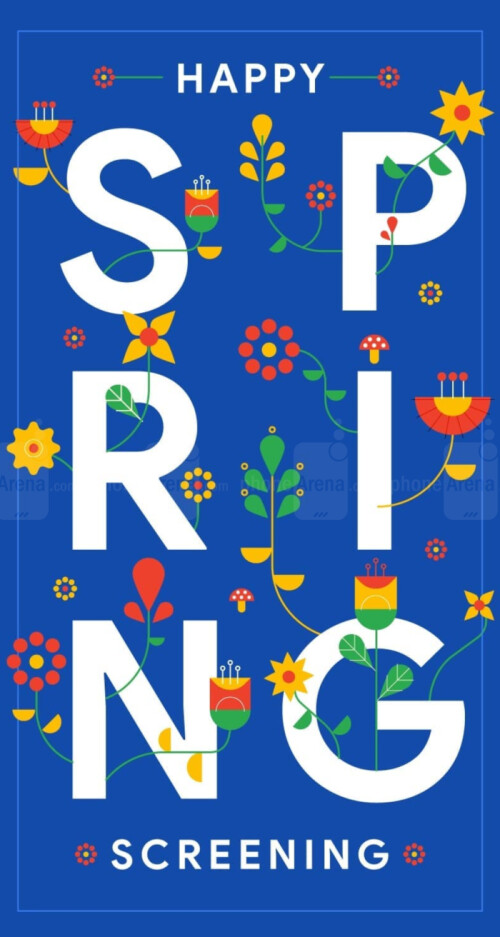 Google Spring wallpapers