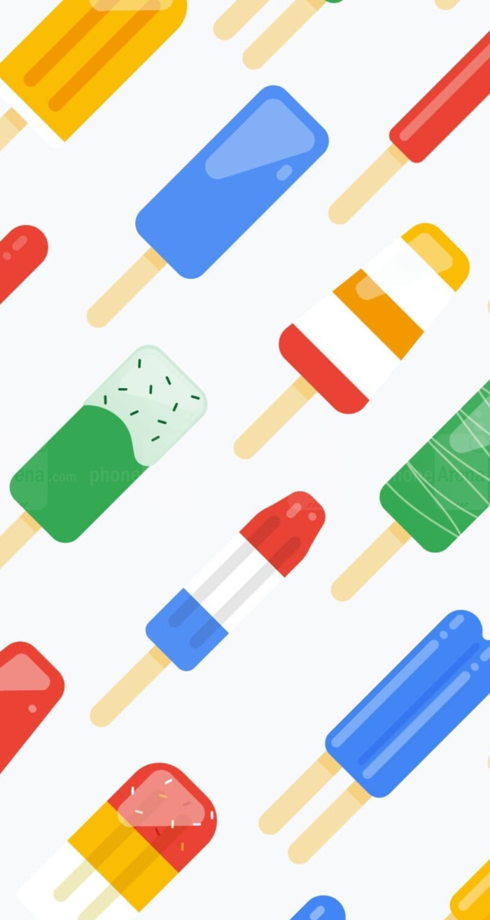 Google's new spring wallpapers might be giving us a major hint about Android P's name