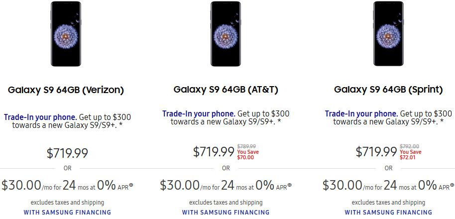 Samsung Galaxy S9, S9+ get price cuts - PhoneArena