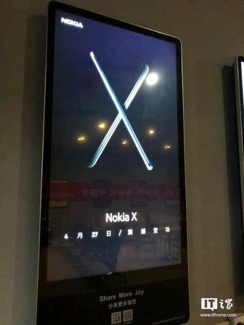 Ads for the upcoming Nokia X (spotted in China)