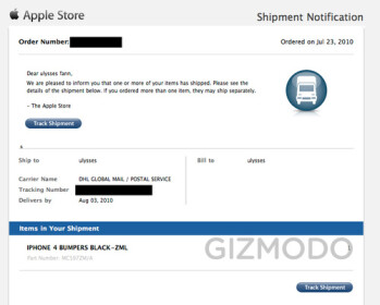 First batch of Apple bumpers now shipping