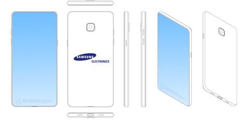 Samsung notch patents