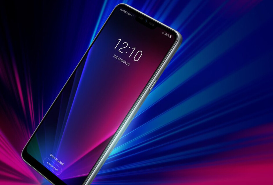 New LG G7 ThinQ image leaks out: the notch is really real