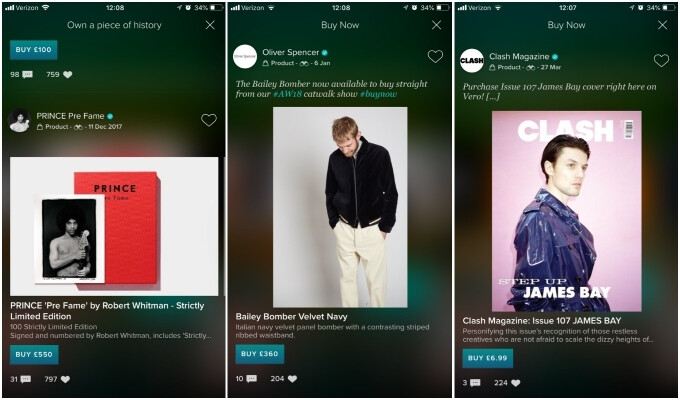 Vero allows merchants to sell products through the app - Is Vero, a 'truly social' network, worth paying for?
