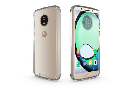 Moto G6 & G6 Plus live images and case renders