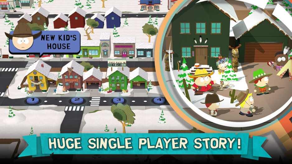 South Park Phone Destroyer - Best free iOS games to play on your iPhone or iPad in 2019