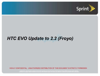 Sprint starts throwing frozen yogurt at the EVO 4G next week, with cherries on top