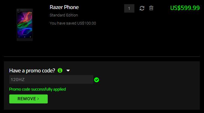 Deal: Save $100 on the Razer Phone