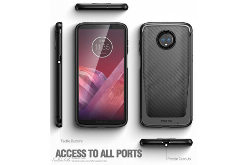 Moto Z3 Play with side-mounted fingerprint sensor, dual-camera setup revealed