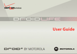 DROID 2 User Guide is leaked