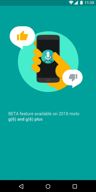 Screenshot for the Moto Voice app confirms the existence of the Moto G6 and Moto G6 Plus - Evidence that the unannounced Moto G6 and Moto G6 Plus are legit comes from Motorola itself