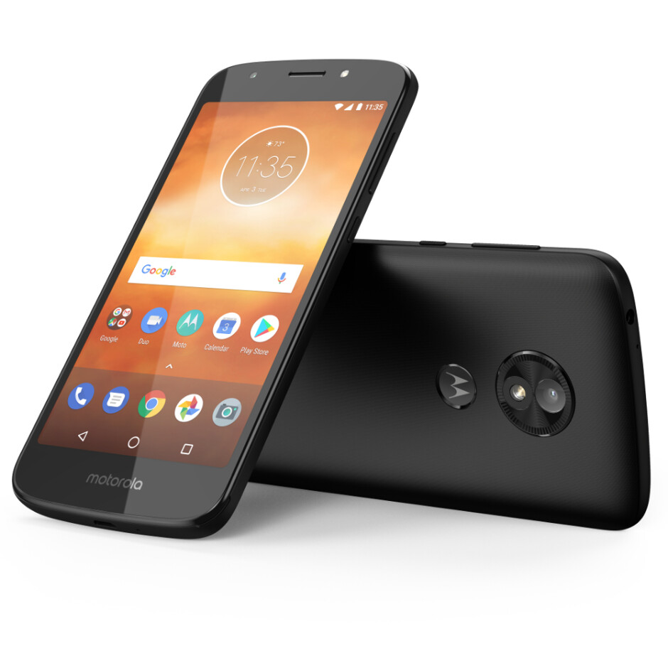Moto E5 Play - Black - The affordable champions are back: meet the Moto E5 Plus, E5, and E5 Play
