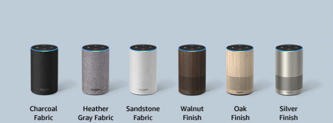 This is what your Echo can look like - Amazon Echo vs Google Home: which smart speaker fits you the best?