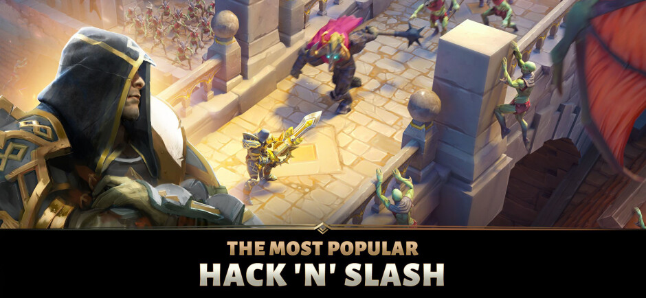 Dungeon Hunter 5 - Best free iOS games to play on your iPhone or iPad in 2019