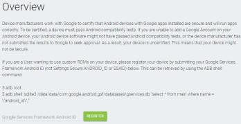 So zertifizieren Sie Ihr benutzerdefiniertes ROM-Android-Smartphone für Google-Apps und -Dienste