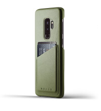 Full-leather-wallet-case-for-Galaxy-S9-Plus---Olive---Thumbnail---01