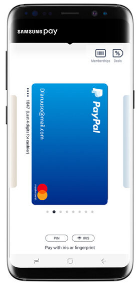 PayPal announces support for Samsung Pay starts rolling out today