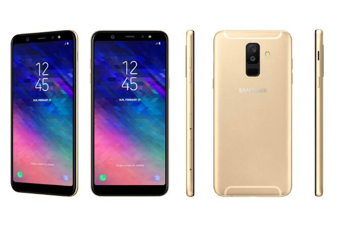 Samsung Galaxy A6 renders - تسريبات: صور ومواصفات جوالي جالكسي A6 وA6 بلس