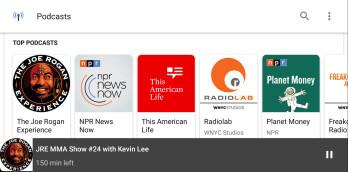 Google startet einen neuen Podcast-Player auf Android