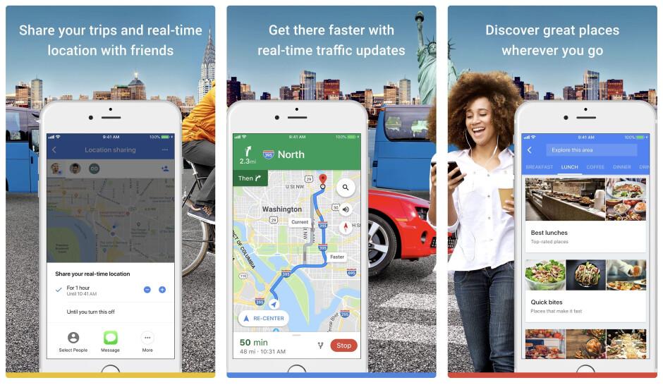 Google Maps - Best iPhone apps (2020)
