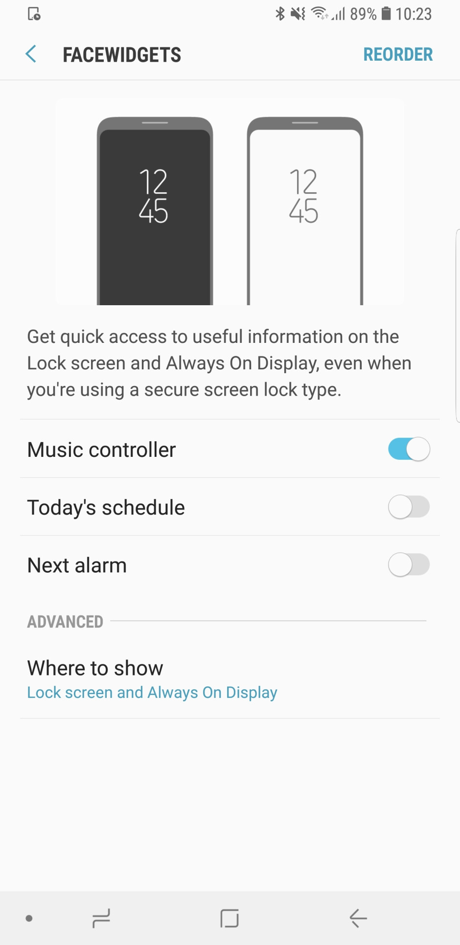 Always-On Display on the Galaxy S9 - Samsung Galaxy S9/S9+ customization guide: All the essential settings you should change