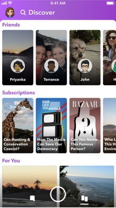 Snapchat is testing another UI redesign - Snapchat trying to put Humpty Dumpty together again