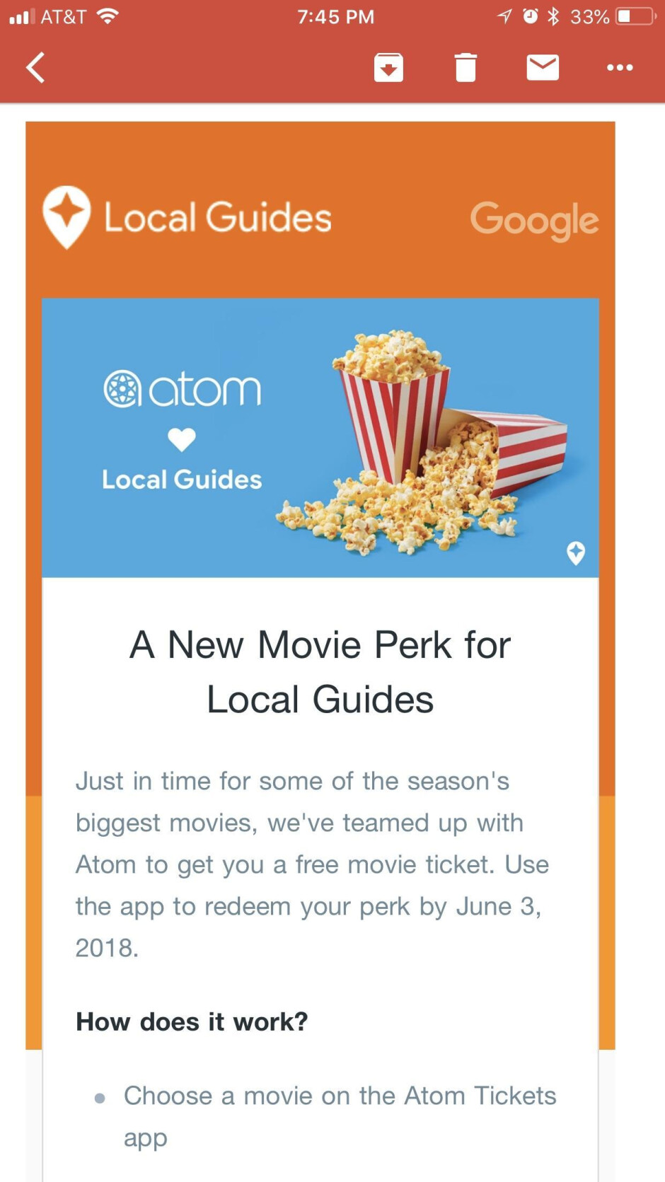 Google's new Local Guides reward initiative involves discounts on movie tickets - Google is giving away discount codes for movie tickets to Local Guides
