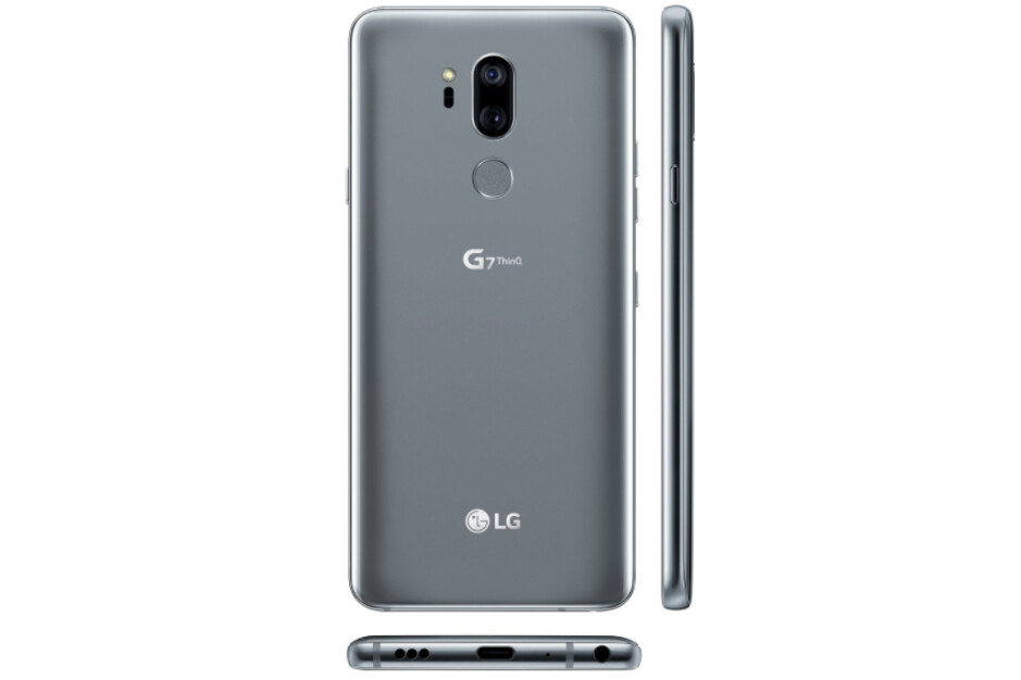 You can almost make out a headphone jack cutout at the bottom of the rendered phone - LG G7 ThinQ: 5 important rumored features to anticipate