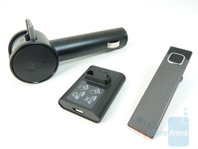 Hands-on with the LG HBM-585 Bluetooth headset