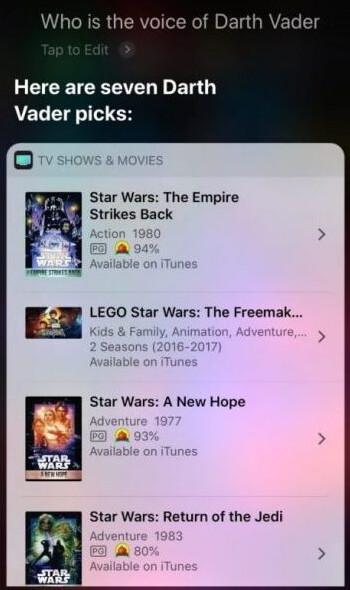 Siri messes up