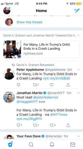 Twitter's new feature highlights news links tweeted by members you follow - New Twitter feature highlights news links tweeted by members you follow