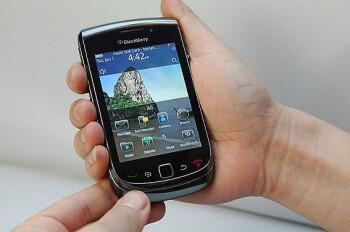 The BlackBerry 9800