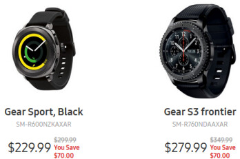 Deal: Samsung Gear S3 and Gear Sport are now cheaper than ever