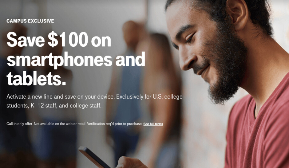 T-Mobile allows college students and teachers to save $100 on phones (iPhone 8 and Galaxy Note 8 included)