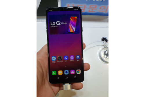 LG G7 ThinQ hands-on images