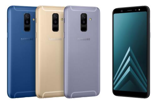 Galaxy A6 and Galaxy A6+