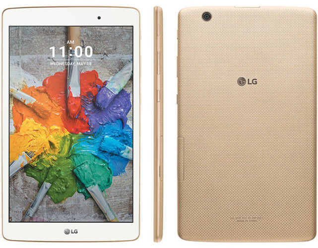 The LG G Pad X 8.0 - T-Mobile LG G Pad X 8.0 April security update
