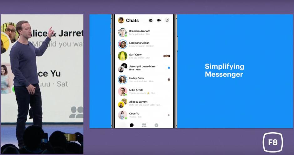 Facebook Messenger to receive a major design overhaul along with a dark theme
