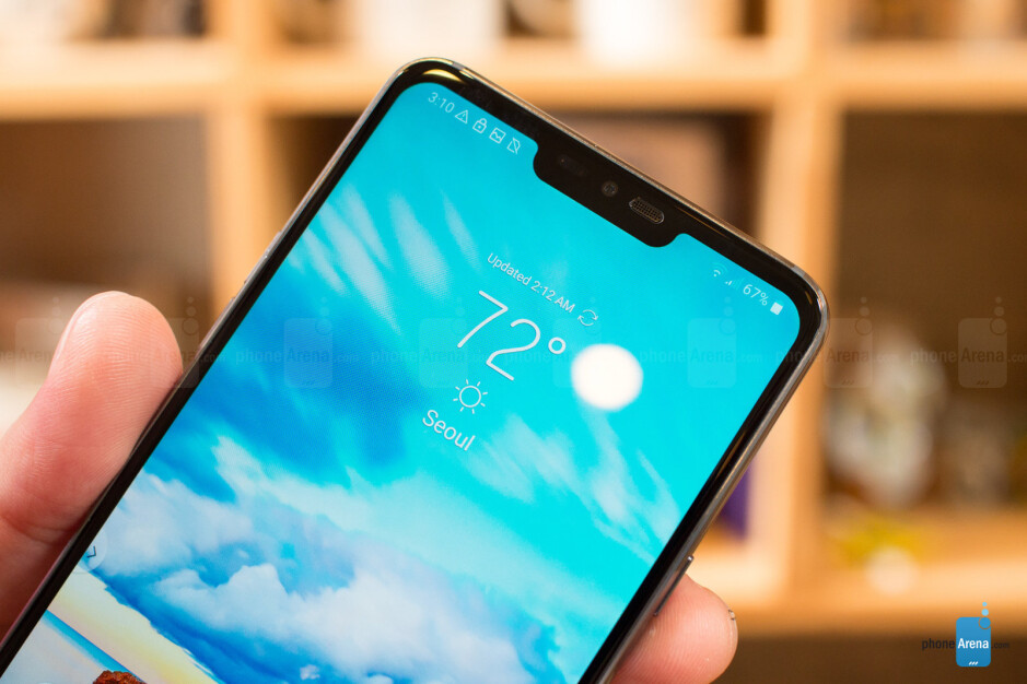 The LG G7 ThinQ adopts the controversial notch design - LG G7 ThinQ Preview: I spent two days with LG's best phone yet