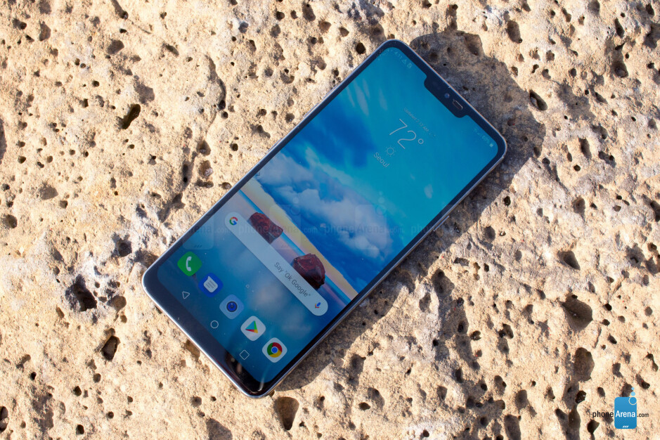 With up to 1000 nits of screen brightness, the G7 is brighter than its competitors - LG G7 ThinQ Preview: I spent two days with LG's best phone yet