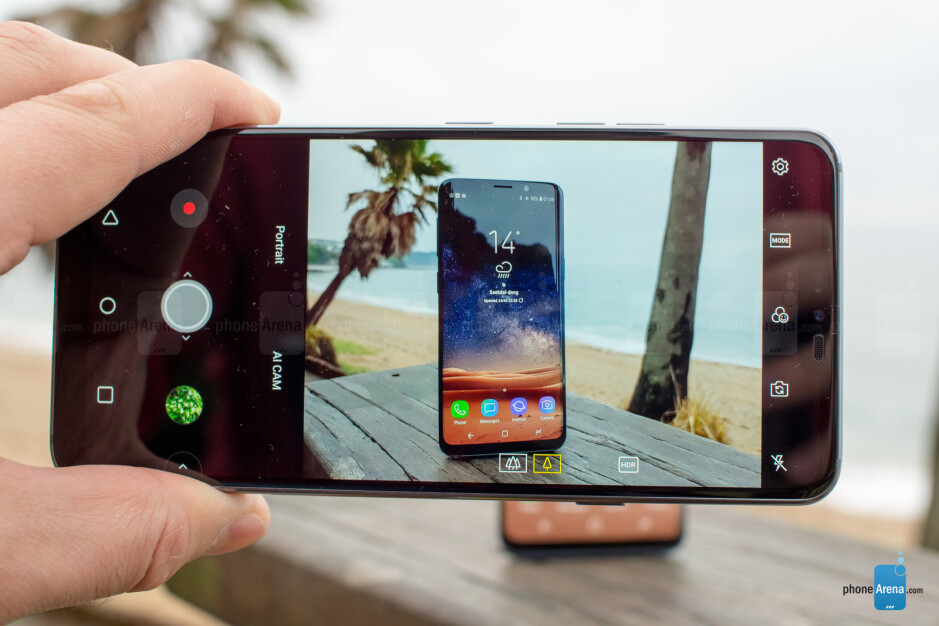 The LG G7 ThinQ has a familiar camera interface - LG G7 ThinQ Preview: I spent two days with LG's best phone yet