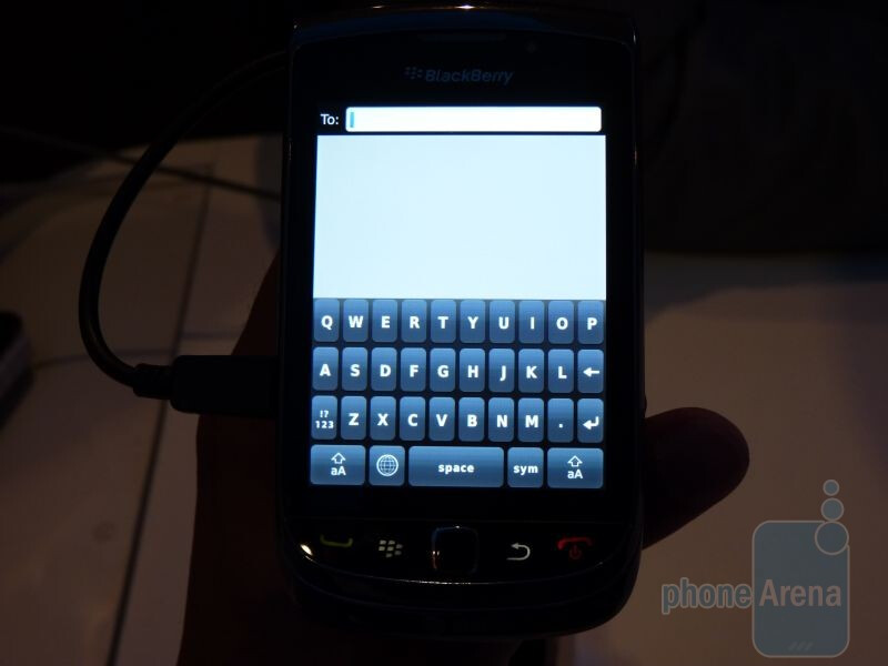 Hands-on with the RIM BlackBerry Torch 9800