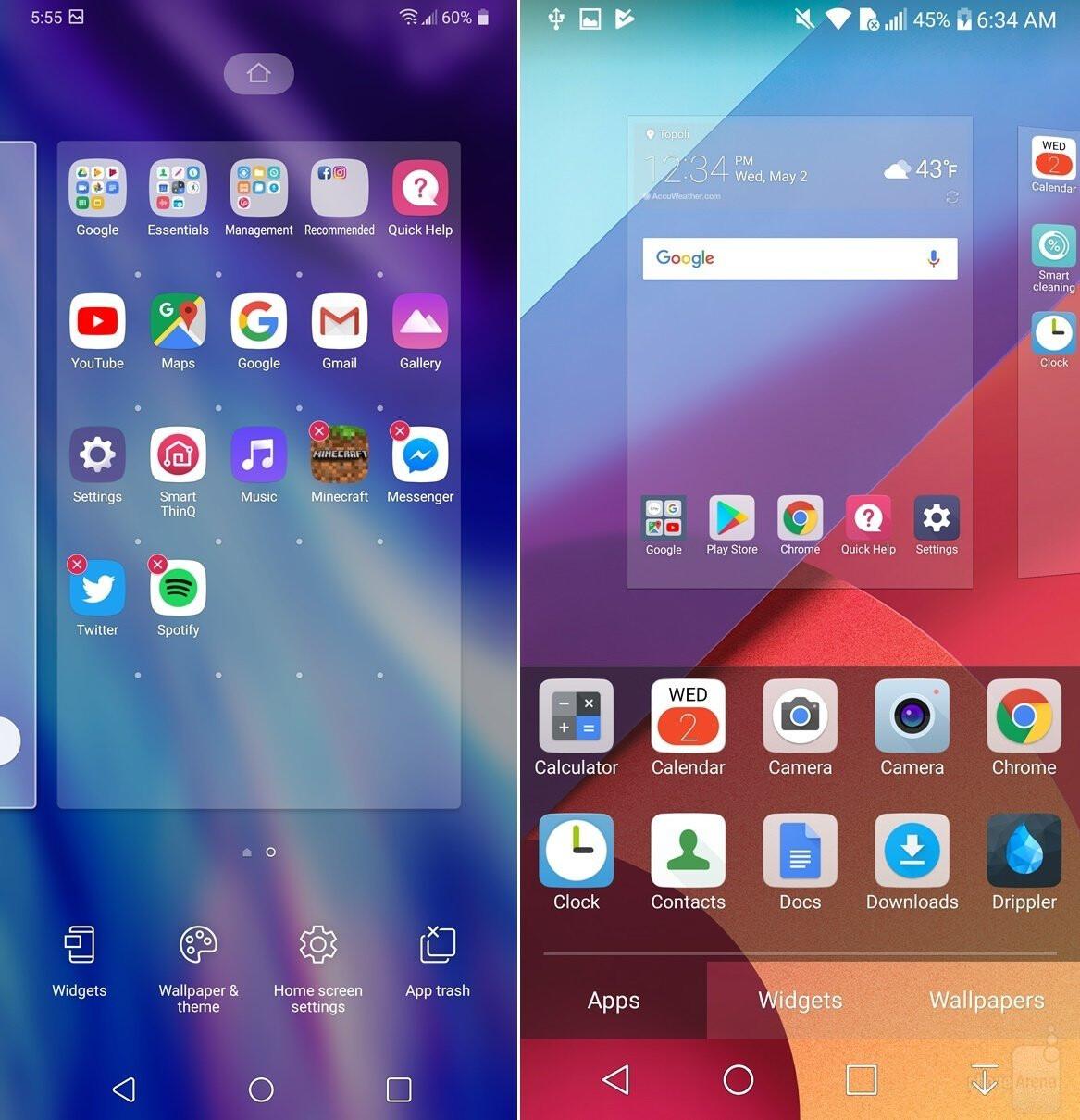 LG G7 ThinQ UI comparison vs LG G6: A walkthrough of the