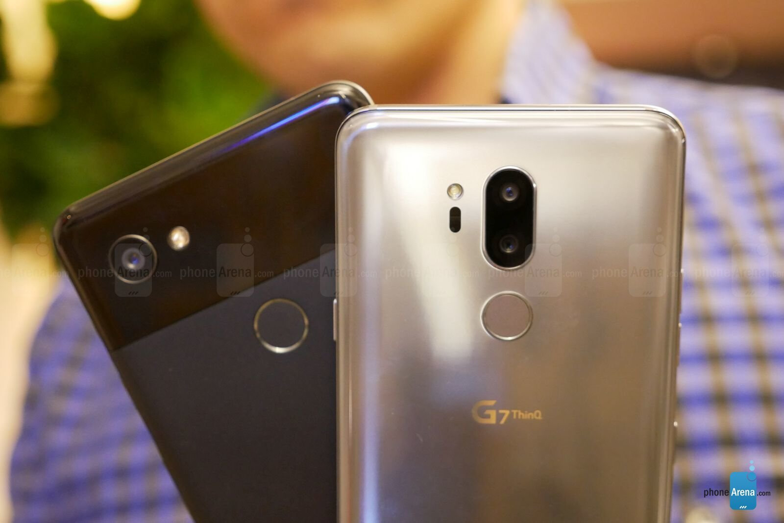 LG G7 ThinQ vs Google Pixel 2 XL: first look | PhoneArena
